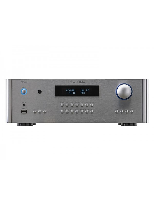 rotel rc-1590 preamplificatore stereo silver