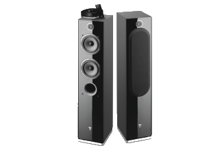 Focal Easya Black Diffusori wireless da pavimento